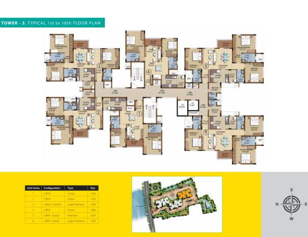 purva skydale Floor Plan 2