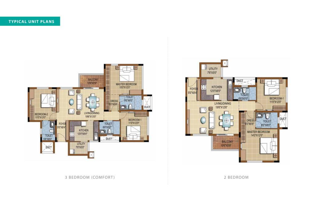 purva skydale Floor Plan